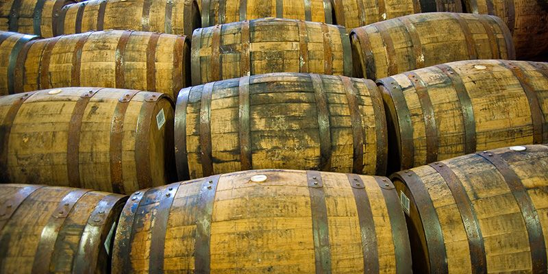 Probieren Sie auch andere Whisky-Sorten, zum Beispiel einen Blended ...